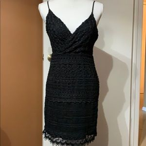Wow couture black lace dress